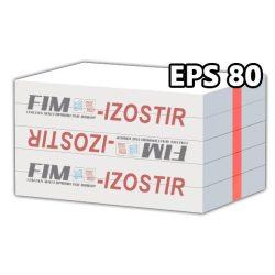 IZOSTIR - EPS 80 (homlokzati)